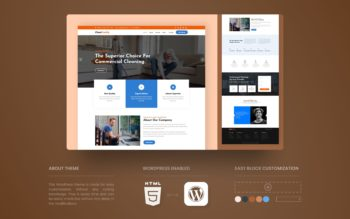 CleanFreshly WordPress Theme