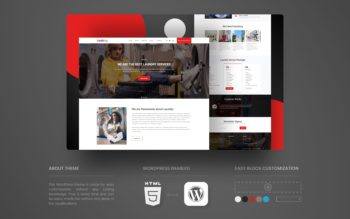 Washing WordPress Theme