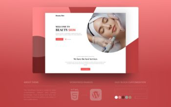 beauty skin WordPress theme