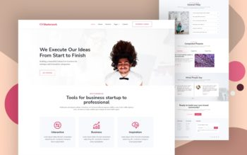 masterwork website template