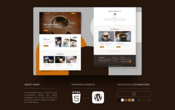 Coffee Cafe WordPress Theme