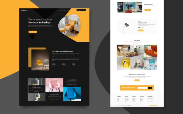 Fitment Website Template