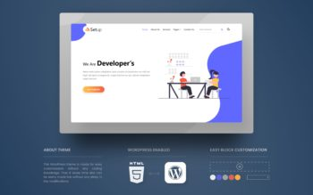 Setup WordPress Theme