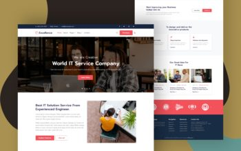 Excellence Website Template