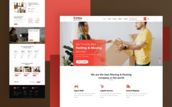 InTime a packers and movers category Website Template