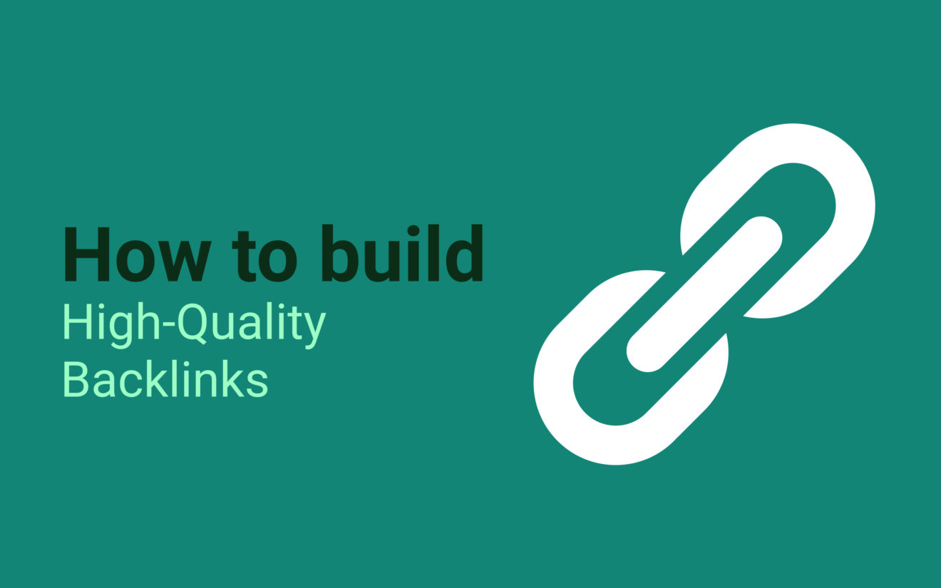 5 ways to build high-quality backlinks to your website